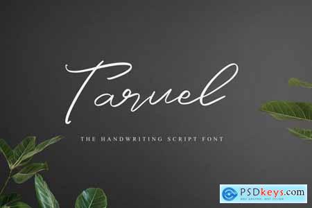 Taruel - The Handwriting Script Font