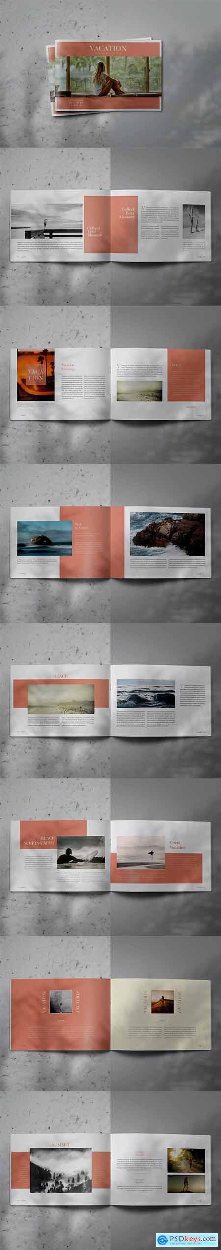 VACATION - Indesign Lookbook Brochure Template