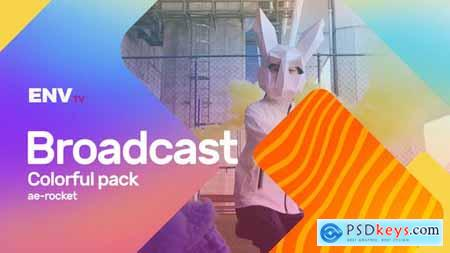 Broadcast ID Colorful Pack 25637076