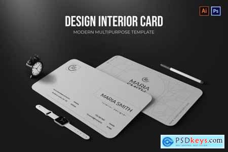 Design Interior - Business Card