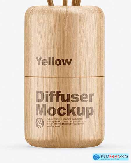 Wood Diffuser Mockup 65814