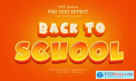 Text effect Back to School