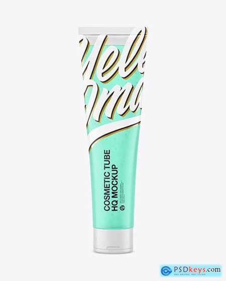 Transparent Cosmetic Tube Mockup 65801