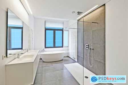 Modern Bathroom-HORZ Mockup