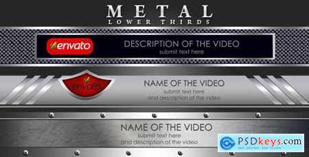 Metal Lower Thirds 2594958