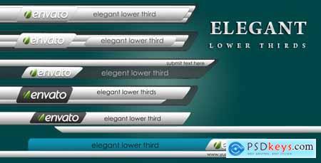 Elegant Lower Thirds 2656502