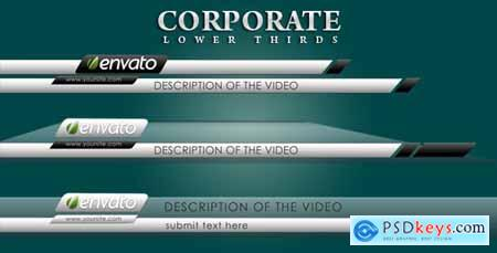 Corporate Lower Thirds 2491377