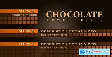Chocolate Lower Thirds 1401593