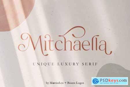 Mitchaella Luxury Serif + Bonus