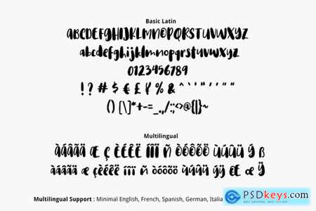 Rosemala Font