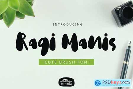 Ragi Manis Font