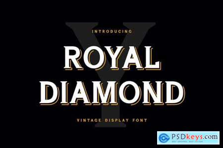 Royal Diamond Display Serif Font