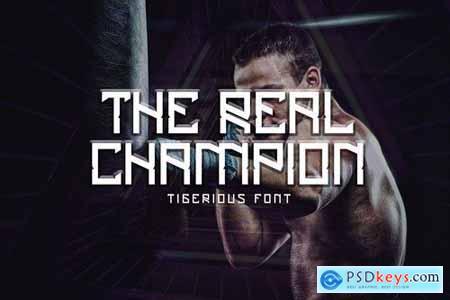 Tigerious - Modern Sport Font DR