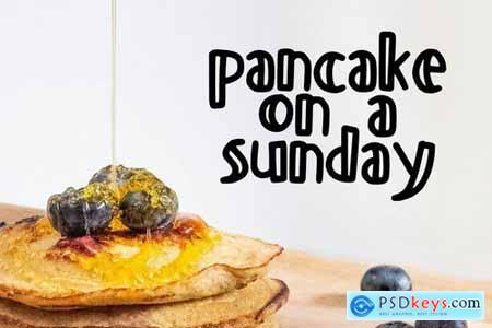 Pancake Font