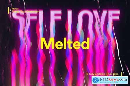 Melted - Trippy Text Distortions 5194163