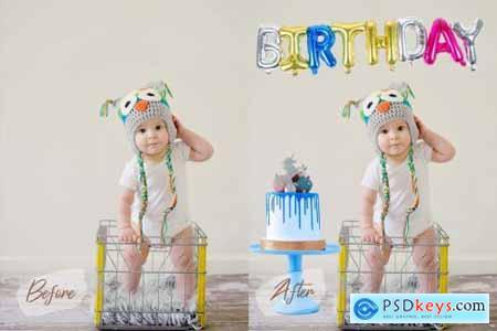 50 Birthday Balloon PNG Overlays 4990999
