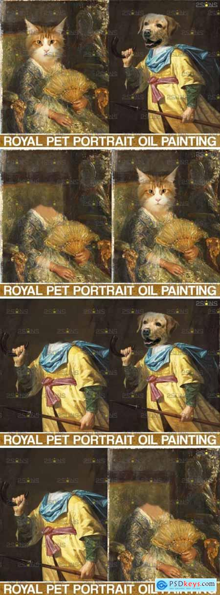 Royal Pet Portrait Templates Vol.11 5023725