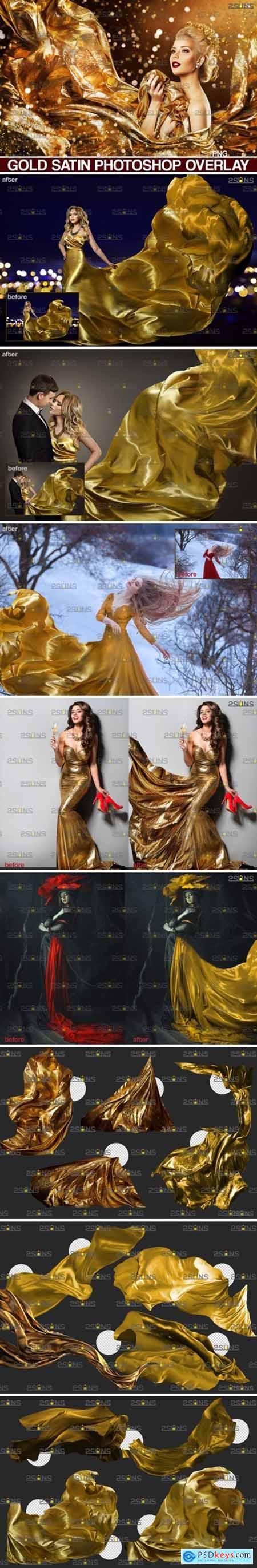 Flying Dress Overlay & Photoshop Overlay 5023552