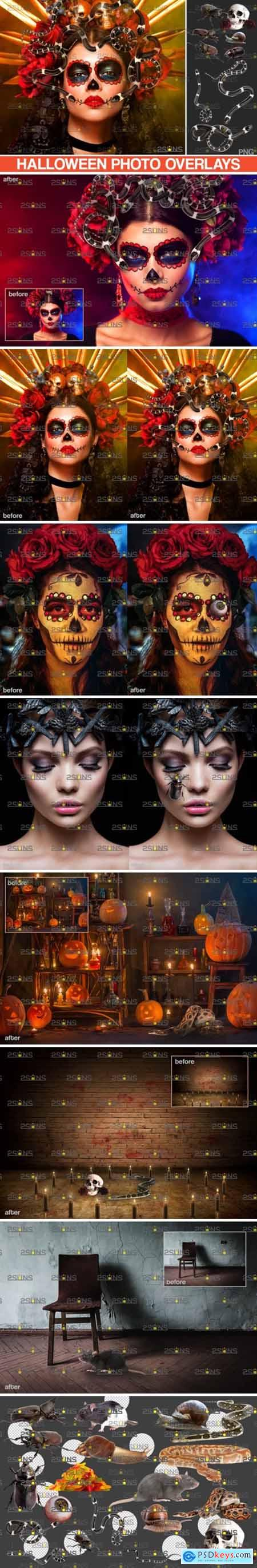 Photoshop Overlay Halloween Clipart V13 5023606