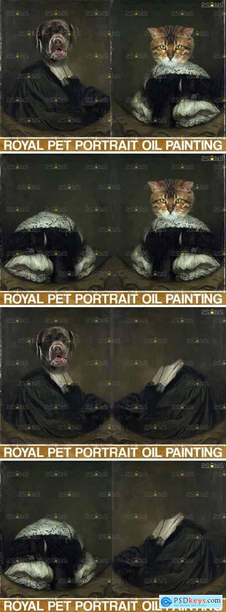 Royal Pet Portrait Templates Vol.9 5023695
