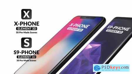 X-Phone Promo For Element 3D + S9 21513856