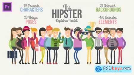 Hipster Explainer Toolkit Essential Graphics Mogrt 23253417