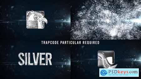 Glowing Particals Logo Reveal 34 Silver Particals 01 25793511