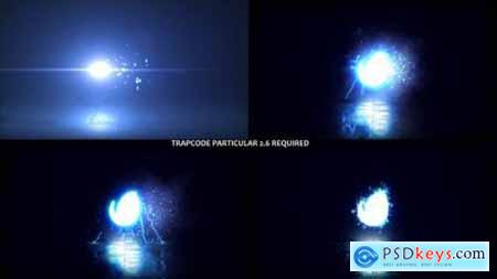 Glowing Particals Logo Reveal 38 27749528