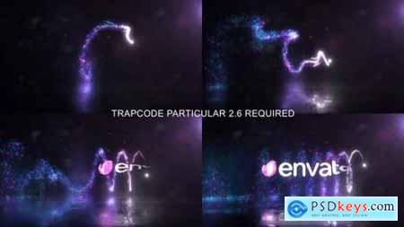 Glowing Particals Logo Reveal 33 24162675