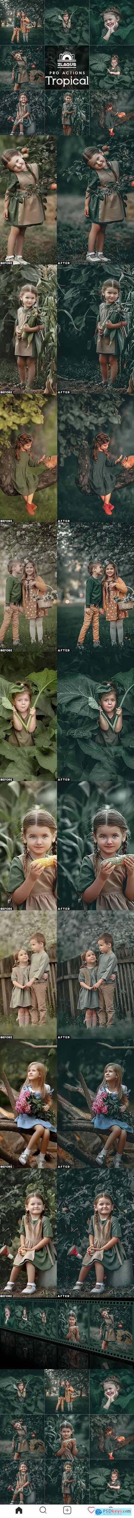 Tropical Photoshop Actions 27184823