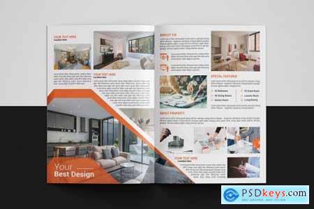 Real Estate Brochure Template 4894417