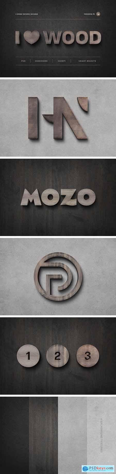 Wood Sign Text Effect 28339619