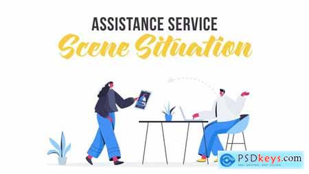 Assistance service - Scene Situation 28435428