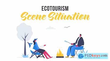 Ecotourism - Scene Situation 28435484
