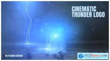 Cinematic Thunder Logo 25379668