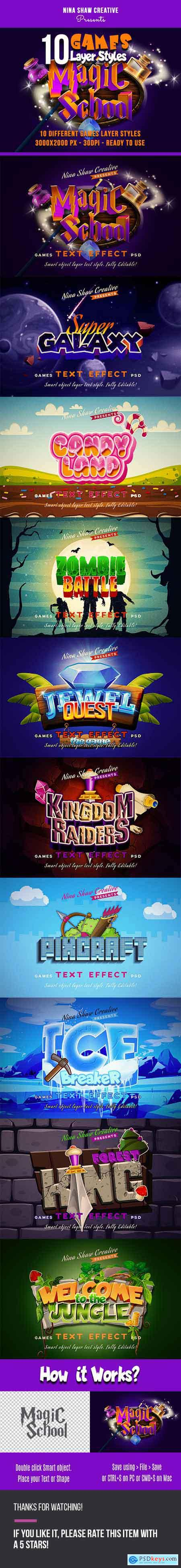 Games Text Effects 27366853