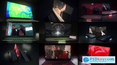 Dark Laptop Mockup 28443663