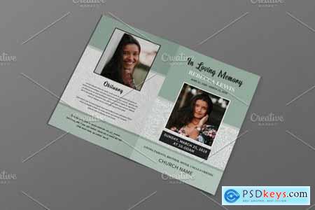 Funeral Program Template - V952 4319254
