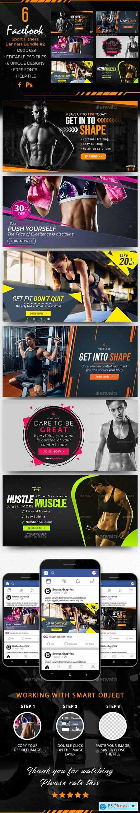 Facebook Sport Fitness Banners 28026747