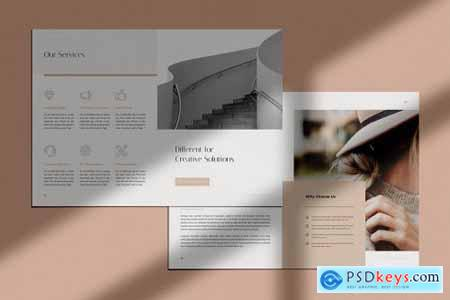 LIGHT - Creative Portfolio Brochures