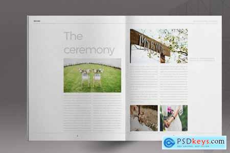 Wedding Lifestyle Brochure Template 5297339