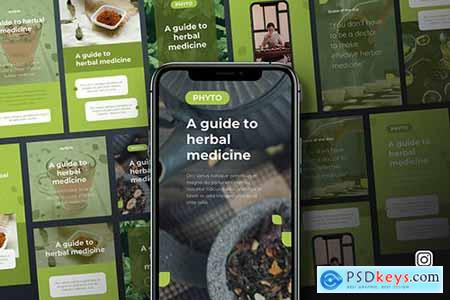 Phyto - Herbal Medicine Instagram Keynote