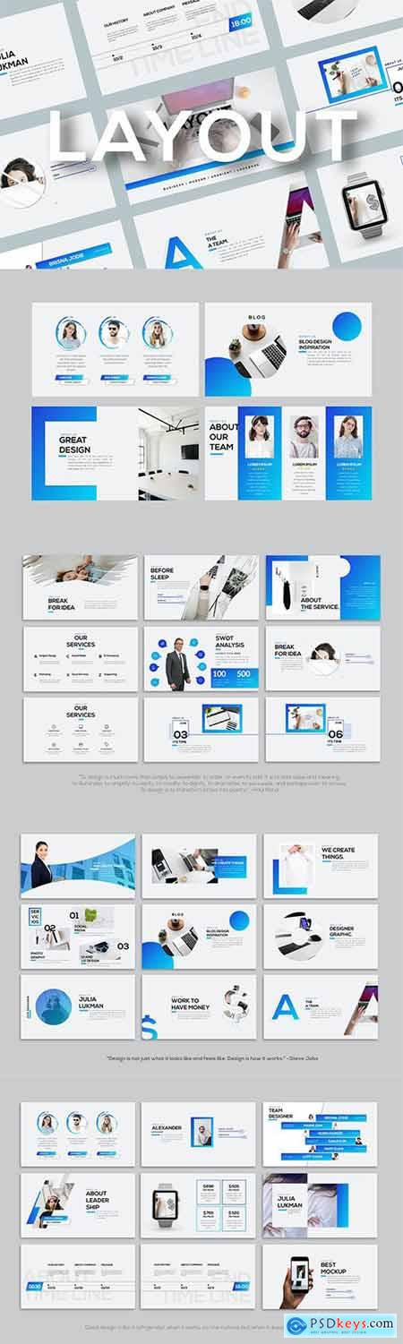 Layout - Powerpoint Template