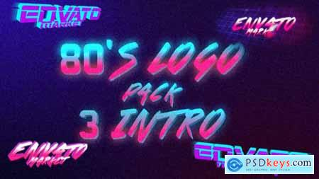 80s Logo Intro Pack 3 in 1 19497990