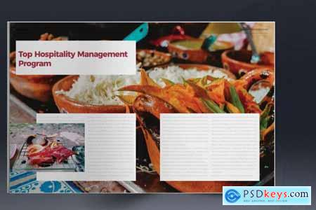 Culinary Brochure Layout 5297421