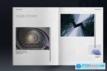 Blue Business Brochure Layout 5297310