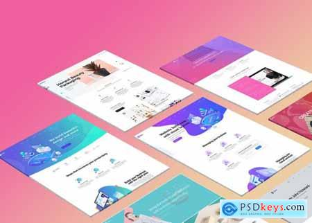 The Perspective Website Mockup 5321511