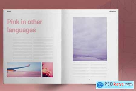 Pink Lifestyle Brochure Layout 5297311