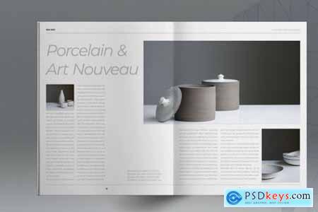 Pottery Art Brochure Template 5297426