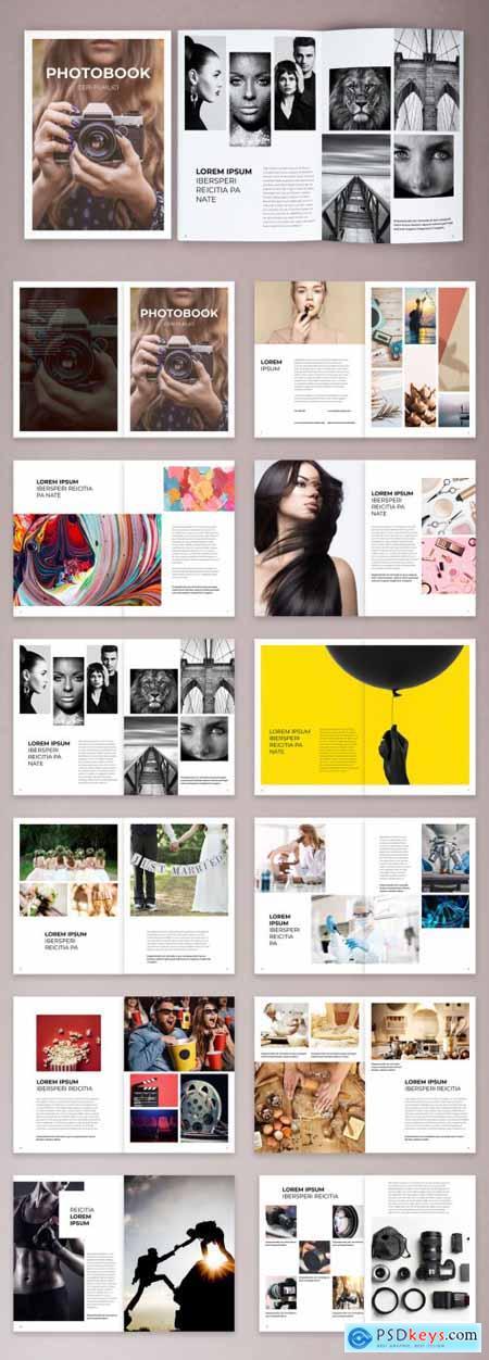 Simple Photobook and Portfolio Layout 373969585